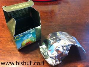 פקעת תה ירוק יסמין - אריזה
