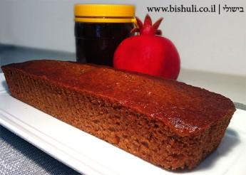 עוגת דבש בחושה - עוגת דבש מושלמת לראש השנה