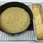 עוגת פירורים - לאחר אפייה