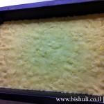 עוגת גבינה פירורים - הכנה 1