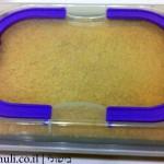 עוגת גבינה פירורים - הכנה 9