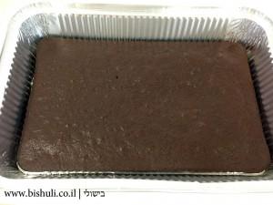 עוגת שכבות קצפת ושוקולד לפסח - הכנה 1