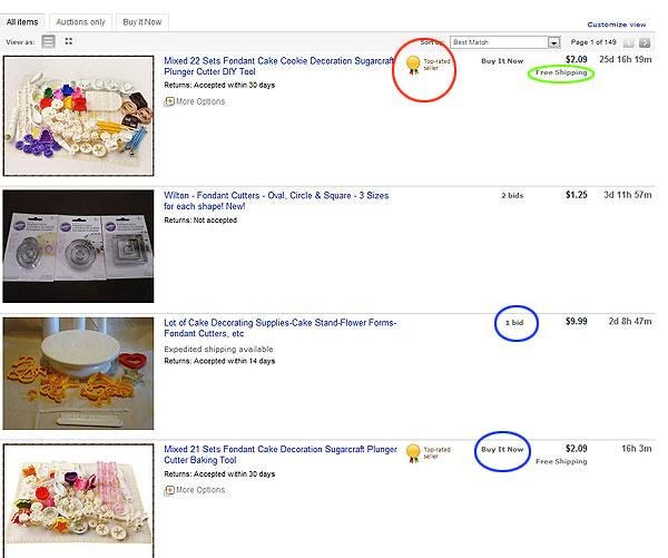 eBay Product Details