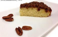 עוגת פקאן וקרמל