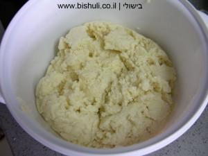 קוסקוס - ערבוב המרכיבים