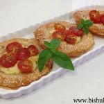 מאפה גבינה עם עגבניות שרי