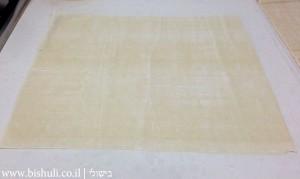גלילי פילו במילוי גבינה - הכנה 1