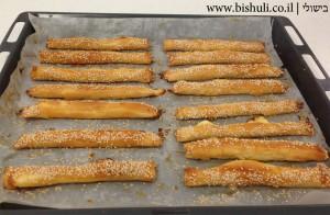גלילי פילו במילוי גבינה - חם מהתנור