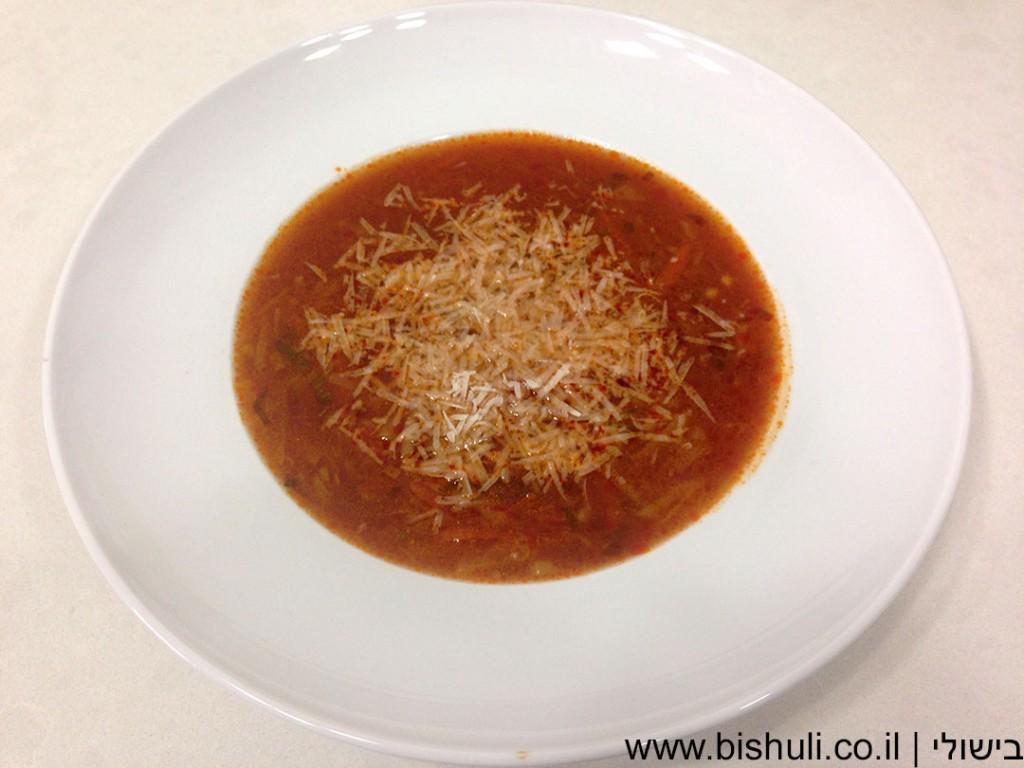 מרק איטלקי - בלי פסטה
