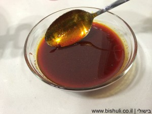 דג מרוקאי - מרכיבי הרוטב