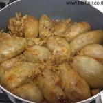 בצל ממולא - לאחר בישול
