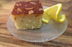 עוגת סולת וקוקוס