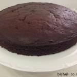 עוגת שוקולד לפסח - לפני מריחת הציפוי