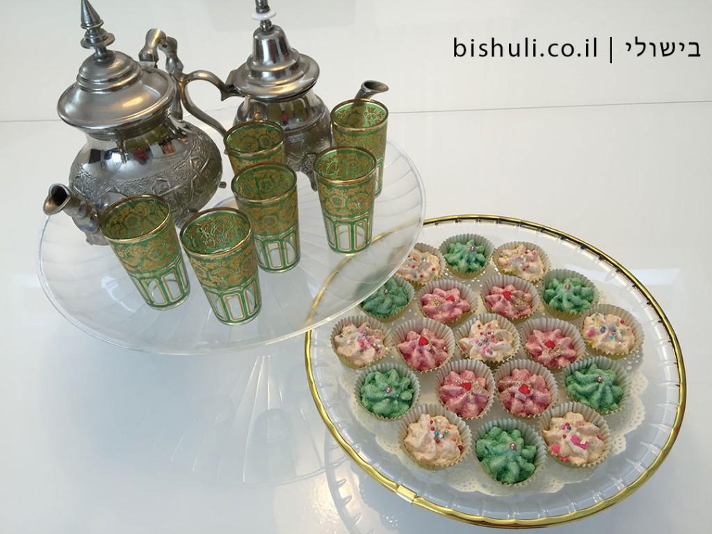 עוגיות קוקוס מרוקאיות - מושלמות למימונה או לחינה