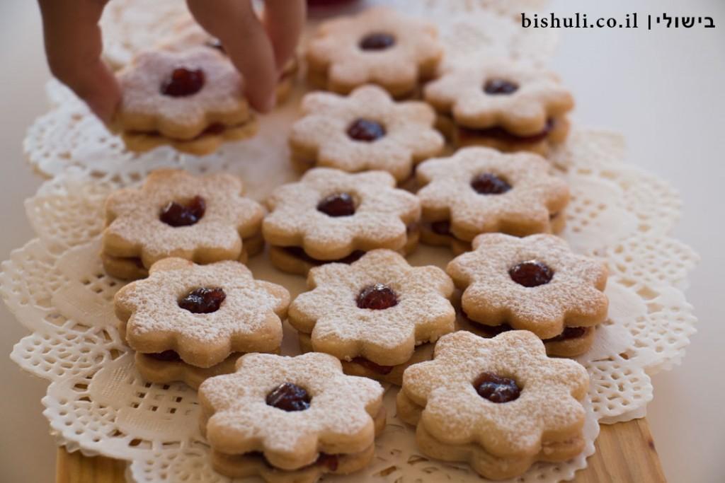 עוגיות ריבה - מבט מקרוב