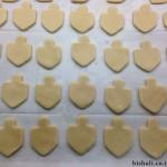 עוגיות חמאה - לפני אפייה