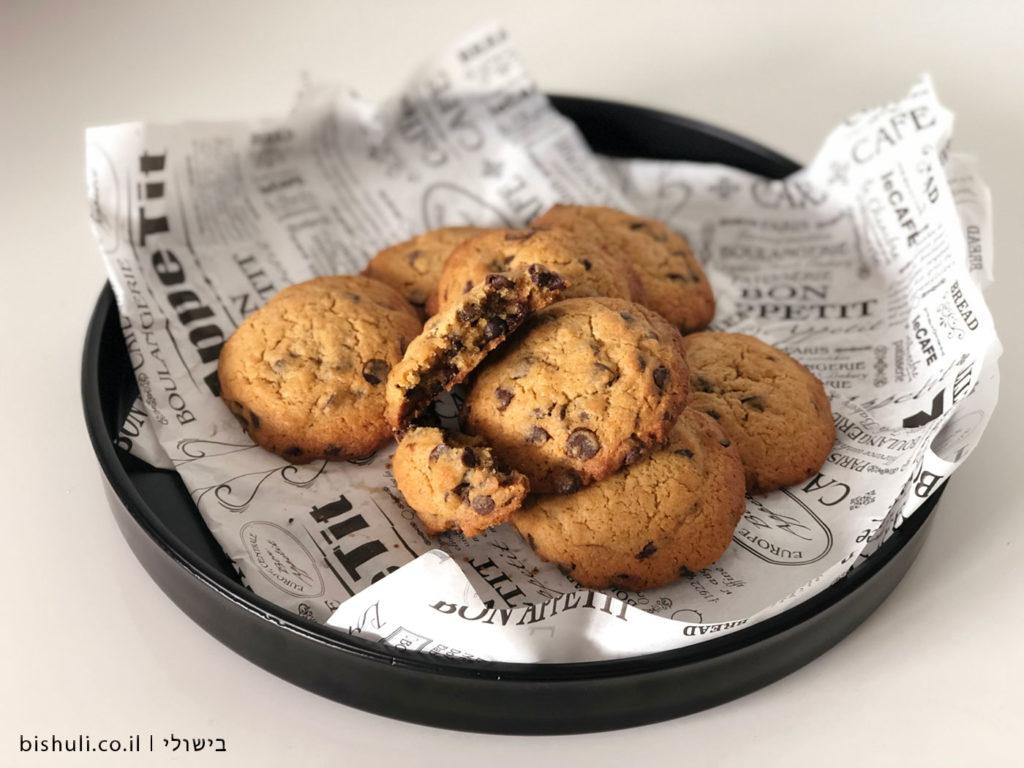 עוגיות שוקולד צ׳יפס מושחתות