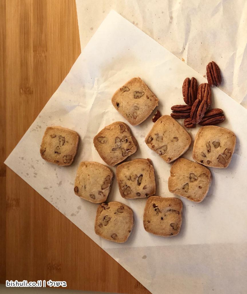 עוגיות חמאה פקאן