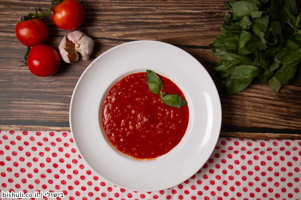 מרק עגבניות מהיר