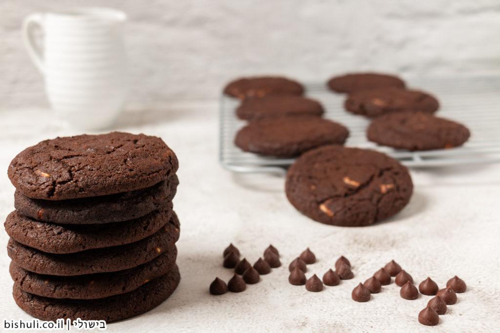 עוגיות שוקולד צ׳יפס לבן