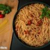 פסטה ברוטב עגבניות שרי צלויות